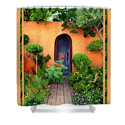 Garden Delights Mesilla Shower Curtain by Kurt Van Wagner