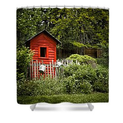 Garden Still Life Shower Curtain by Margie Hurwich