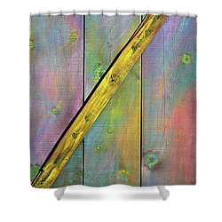 Gateway To Z Universe Shower Curtain by Asha Carolyn Young