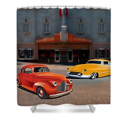 Gem Theater - Kansas City Missouri  Shower Curtain by Liane Wright