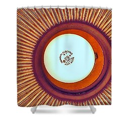 General Electric 25 Shower Curtain by John King