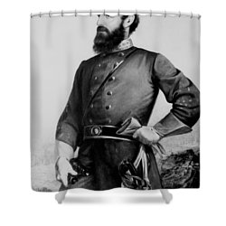 General Thomas Stonewall Jackson Shower Curtain by Mountain Dreams