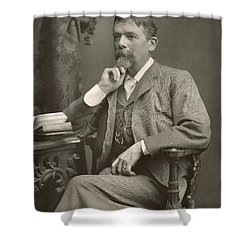 George Du Maurier Shower Curtain by Stanislaus Walery
