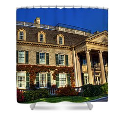 George Eastman House Hdr Shower Curtain by Tim Buisman