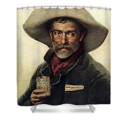 George Wiedemann's Brewing Company C. 1900 Shower Curtain by Daniel Hagerman