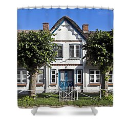 German Country House  Shower Curtain by Heiko Koehrer-Wagner