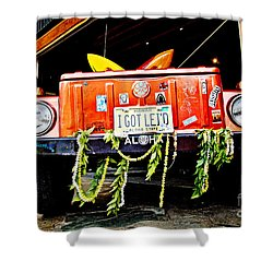 Get Lei'd Shower Curtain by Scott Pellegrin