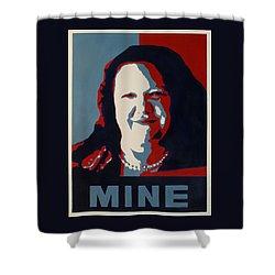 Gina Minehard Shower Curtain by Lyndsey Hatchwell