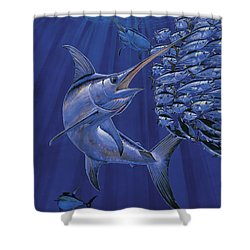 Gladiator Off0080 Shower Curtain by Carey Chen