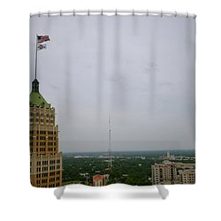 Go Spurs Go - 2013 Shower Curtain by Shawn Marlow