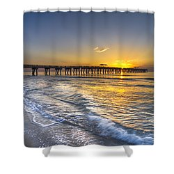 God's Glory Shower Curtain by Debra and Dave Vanderlaan