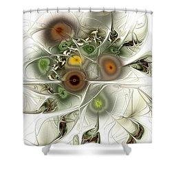 Going Green Shower Curtain by Anastasiya Malakhova