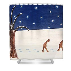 Going Home  Shower Curtain by Patrick J Murphy