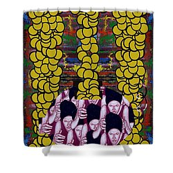Gold 1 Shower Curtain by Patrick J Murphy