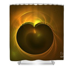 Golden Delicious Shower Curtain by Kim Sy Ok