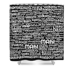 Gone Fishing 20130622bw Shower Curtain by Wingsdomain Art and Photography
