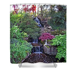 Gone Fishing. Keukenhof Gardens. Holland Shower Curtain by Ausra Huntington nee Paulauskaite