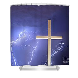 Good Friday Shower Curtain by James BO  Insogna