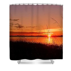 Good Morning ... Shower Curtain by Juergen Weiss