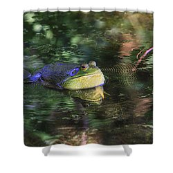 Good Vibrations Shower Curtain by Donna Kennedy