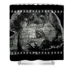 Goodbye Classic America Shower Curtain by Absinthe Art By Michelle LeAnn Scott