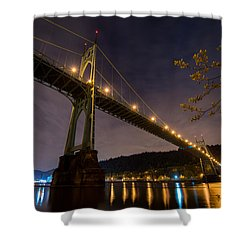 Gothic Sentries Shower Curtain by Chad Dutson