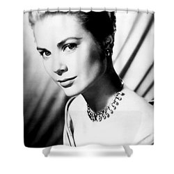 Grace Kelly Shower Curtain by Daniel Hagerman