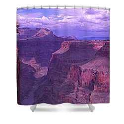 Grand Canyon, Arizona, Usa Shower Curtain by Panoramic Images