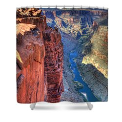 Grand Canyon Awe Inspiring Shower Curtain by Bob Christopher