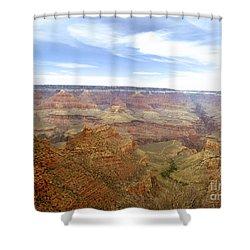 Grand Canyon  Shower Curtain by Scott Pellegrin