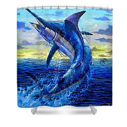 Grander Off007 Shower Curtain by Carey Chen