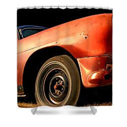 Grandpa Hudson Shower Curtain by Ron Day