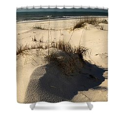 Grassy Dunes Shower Curtain by Adam Jewell