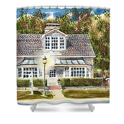 Greystone Inn II Shower Curtain by Kip DeVore