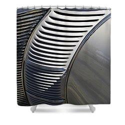 Grill Work Shower Curtain by Joe Kozlowski