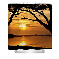 Grow Old Beside Me Shower Curtain by Karen Wiles