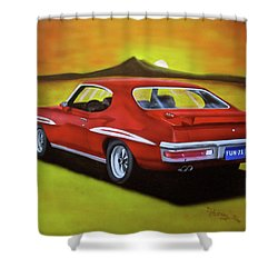 Gto 1971 Shower Curtain by Thomas J Herring