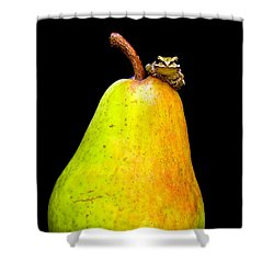 Guest A-pear-ance Shower Curtain by Jean Noren