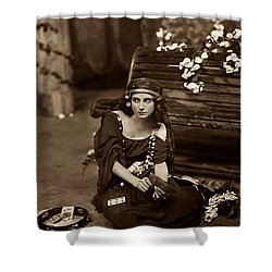Gypsy Shower Curtain by Unknown