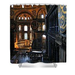 Hagia Sophia Shower Curtain by Stephen Stookey