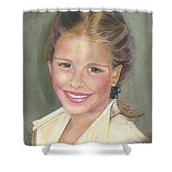Haley  Shower Curtain by Diane Strain