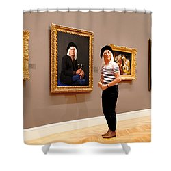 Hall Of Fame Shower Curtain by Daniel Furon