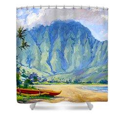 Hanalei Style Shower Curtain by Jenifer Prince