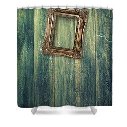 Hanging Frame Shower Curtain by Amanda Elwell