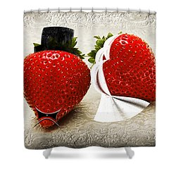 Happily Berry After Shower Curtain by Andee Design