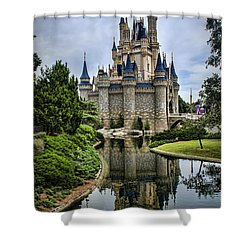 Happily Ever After Shower Curtain by Heather Applegate