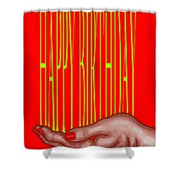 Happy Birthday 4 Shower Curtain by Patrick J Murphy