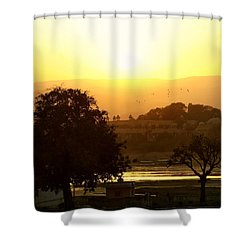 Happy Hour Shower Curtain by A Rey
