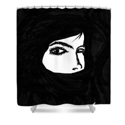 Harem Shower Curtain by Len YewHeng