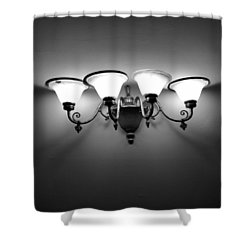 Harlem Sconce Shower Curtain by H James Hoff